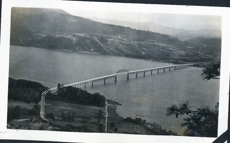 1927 Columbia River bridge