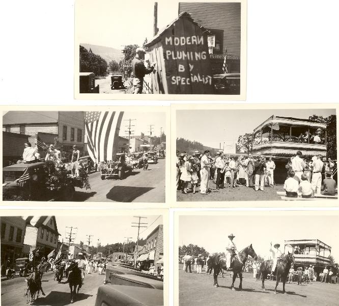 1930 White Salmon parade