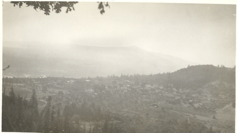 1930s White Salmon photo looking southwest