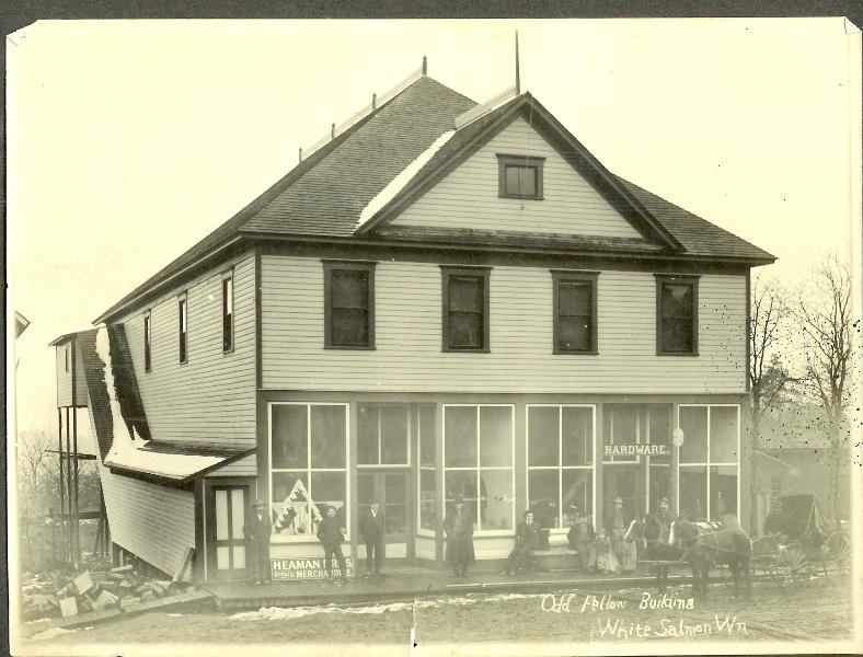 Odd Sellows building-Heaman Bros store