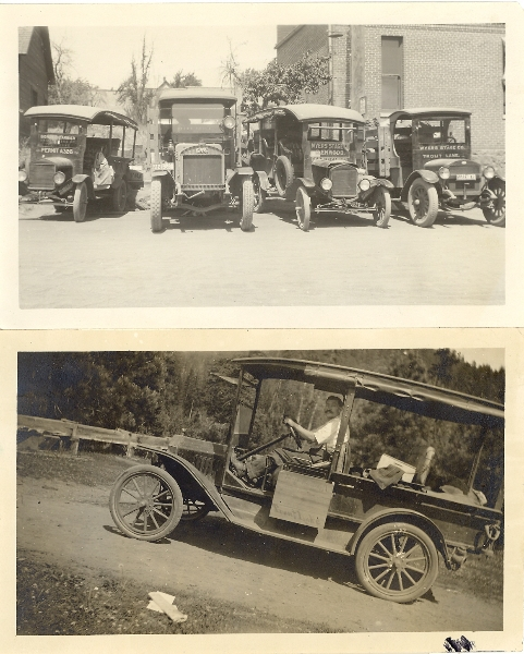 1926 Wyers stage vehicles