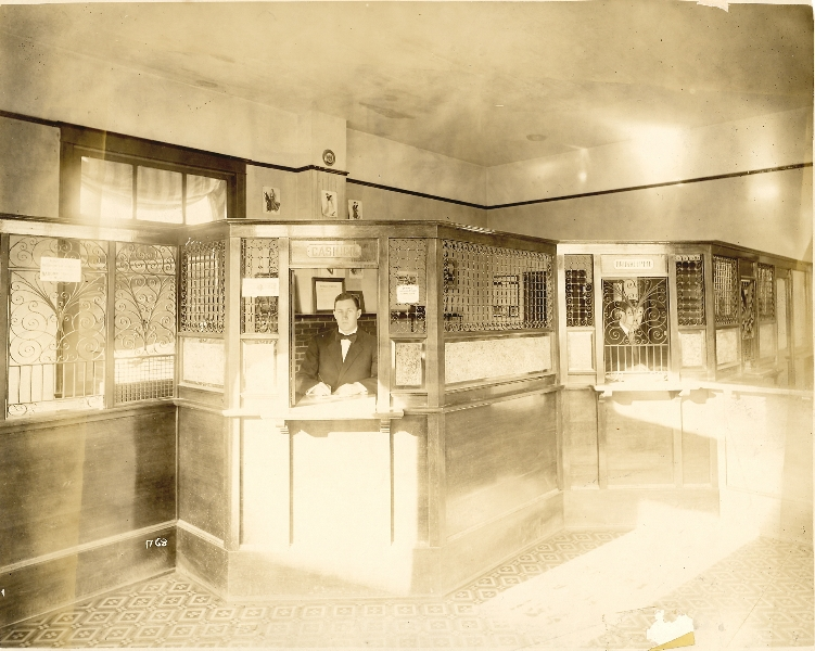 1856 Will Rafferty 1st Natl Bank teller in White Salmon