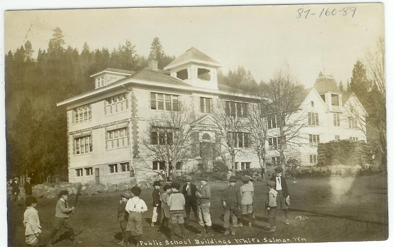 1906 White Salmon public schools buildings