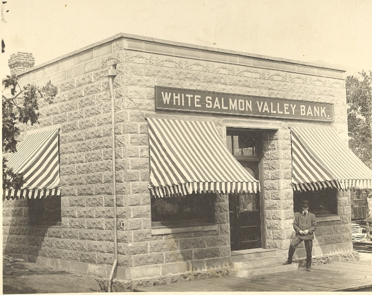 1907 Charles Spensers White Salmon Valley Bank