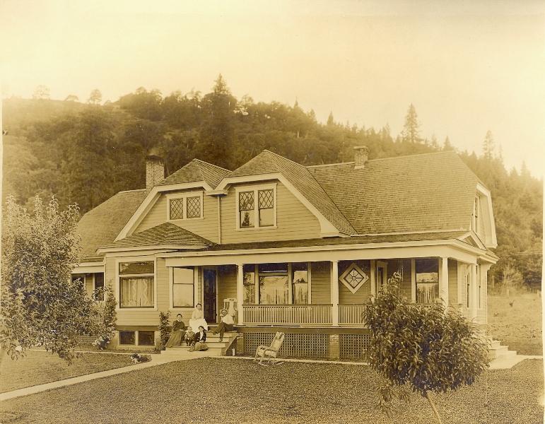1907 Rufus Byrkett built home