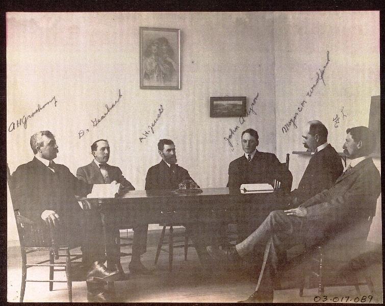 1907 White Salmon city fathers