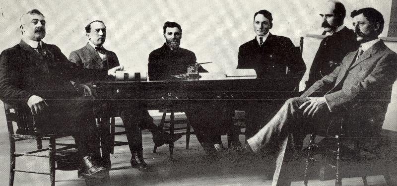1907 White Salmon Mayor & 1st Council