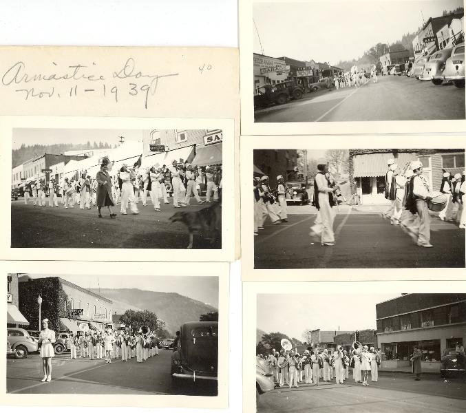1939 White Salmon Armistice parade