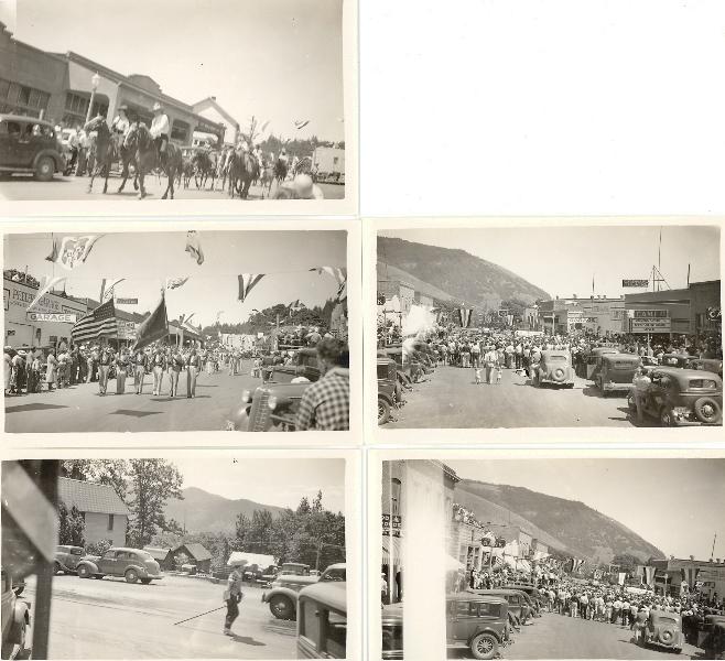 1939 White Salmon Parade on Jewett Blvd