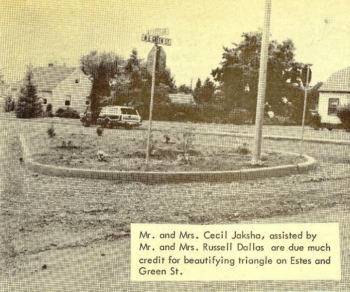 1968 Jaksha, Dallas families beutify White Salmon